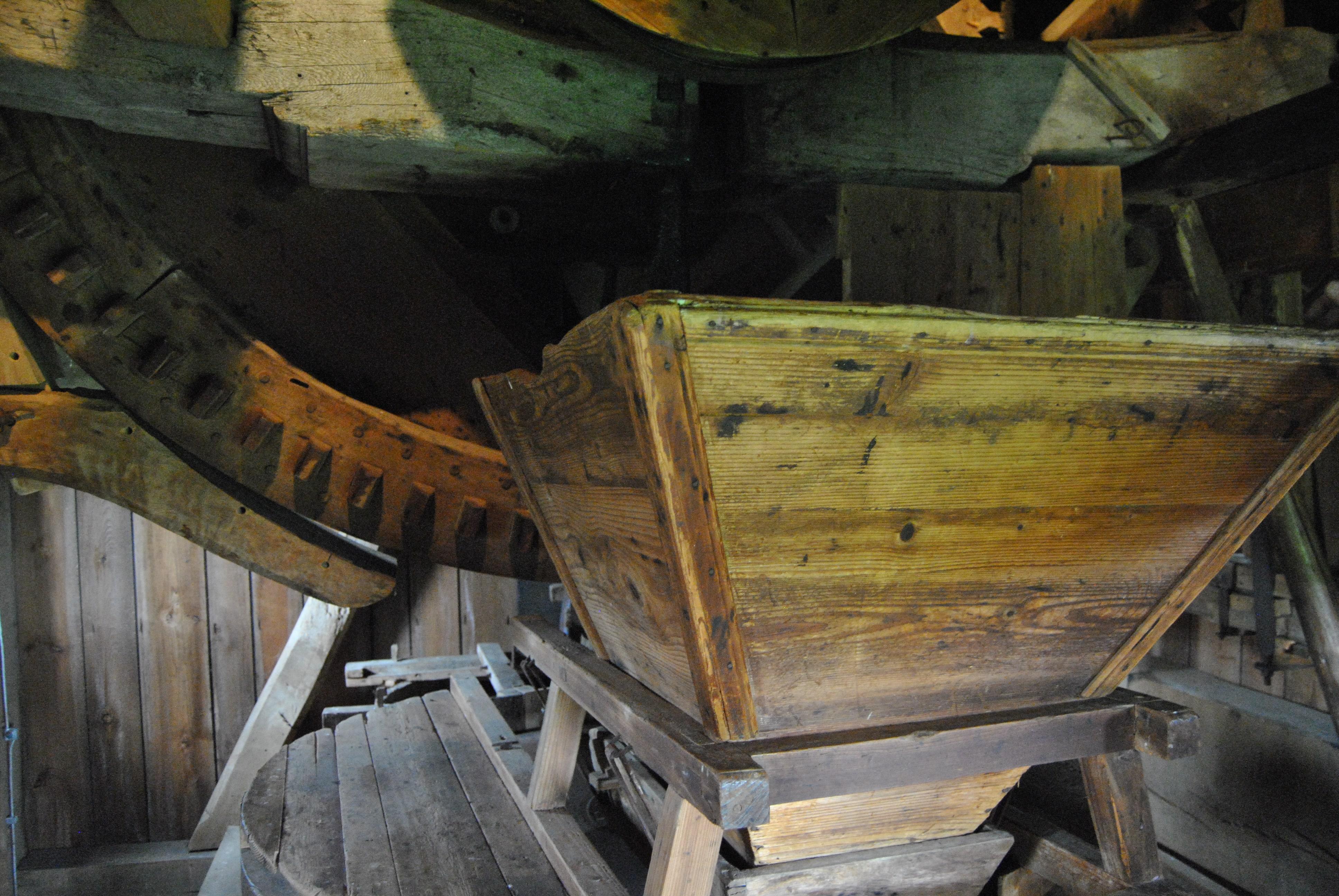 Mühle von Innen