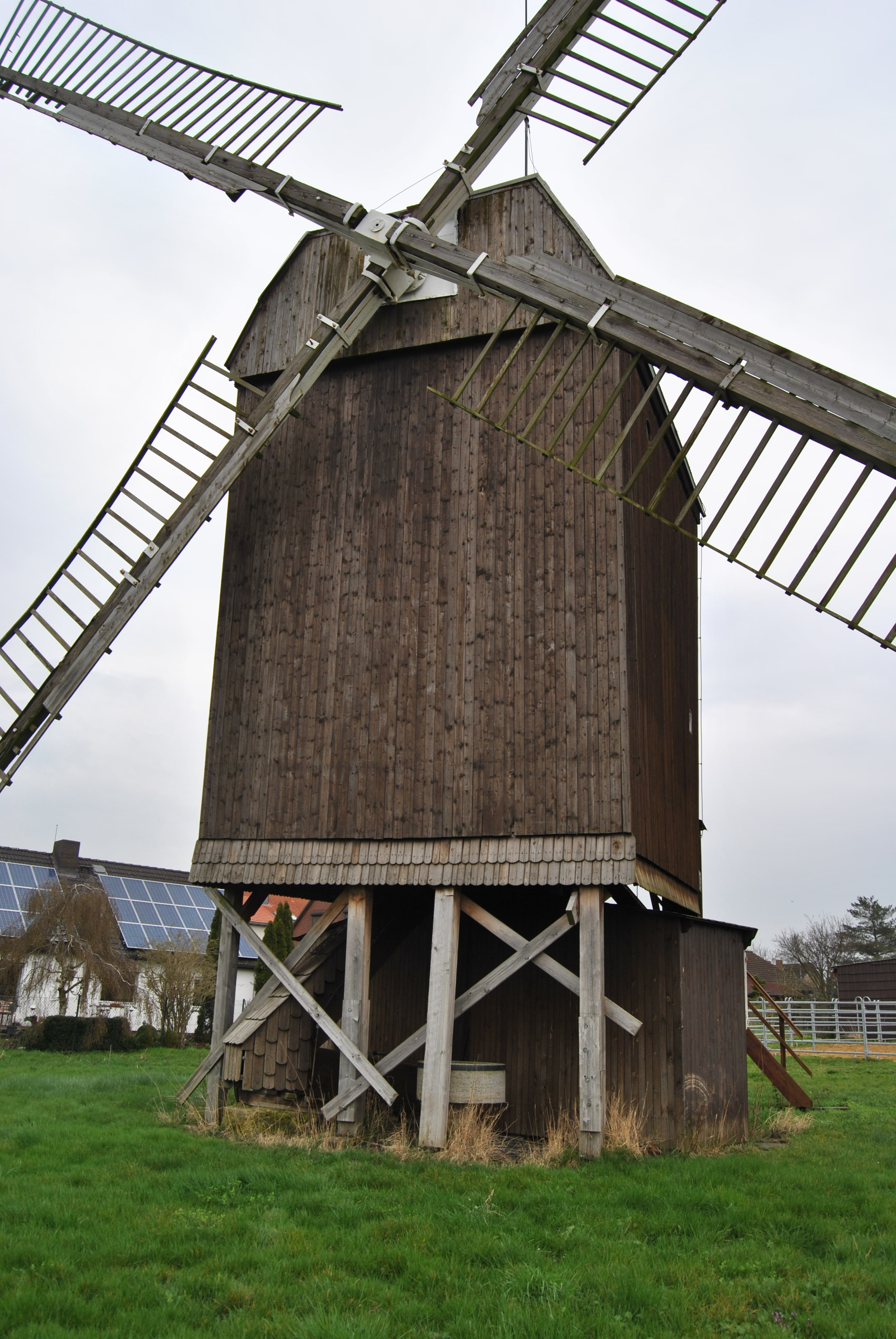 Die Bockwindmühle Dettum