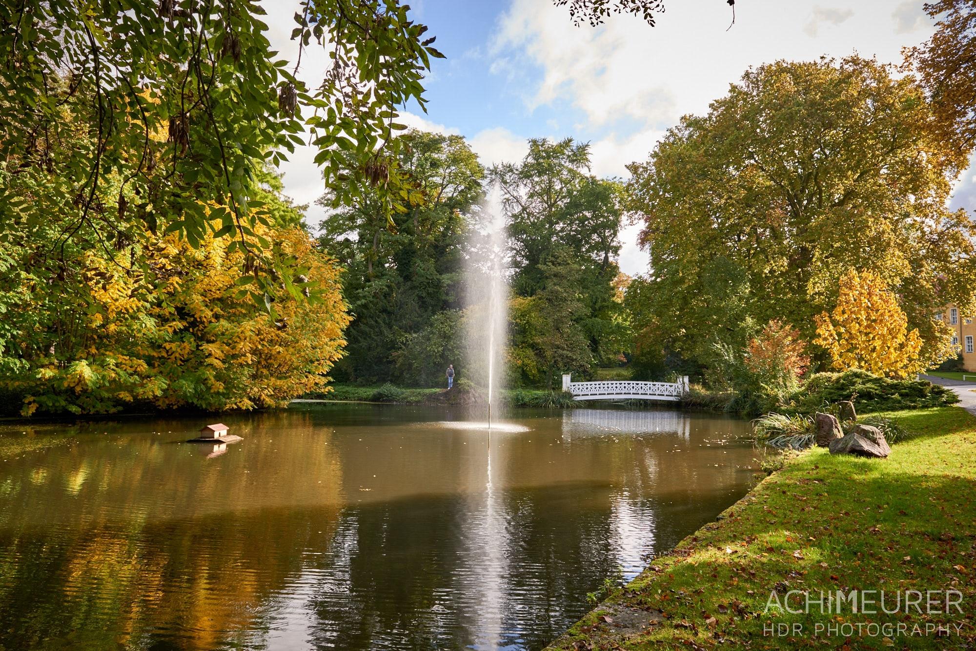 Schloss-Park, Herbst-Landschaft #nhavo