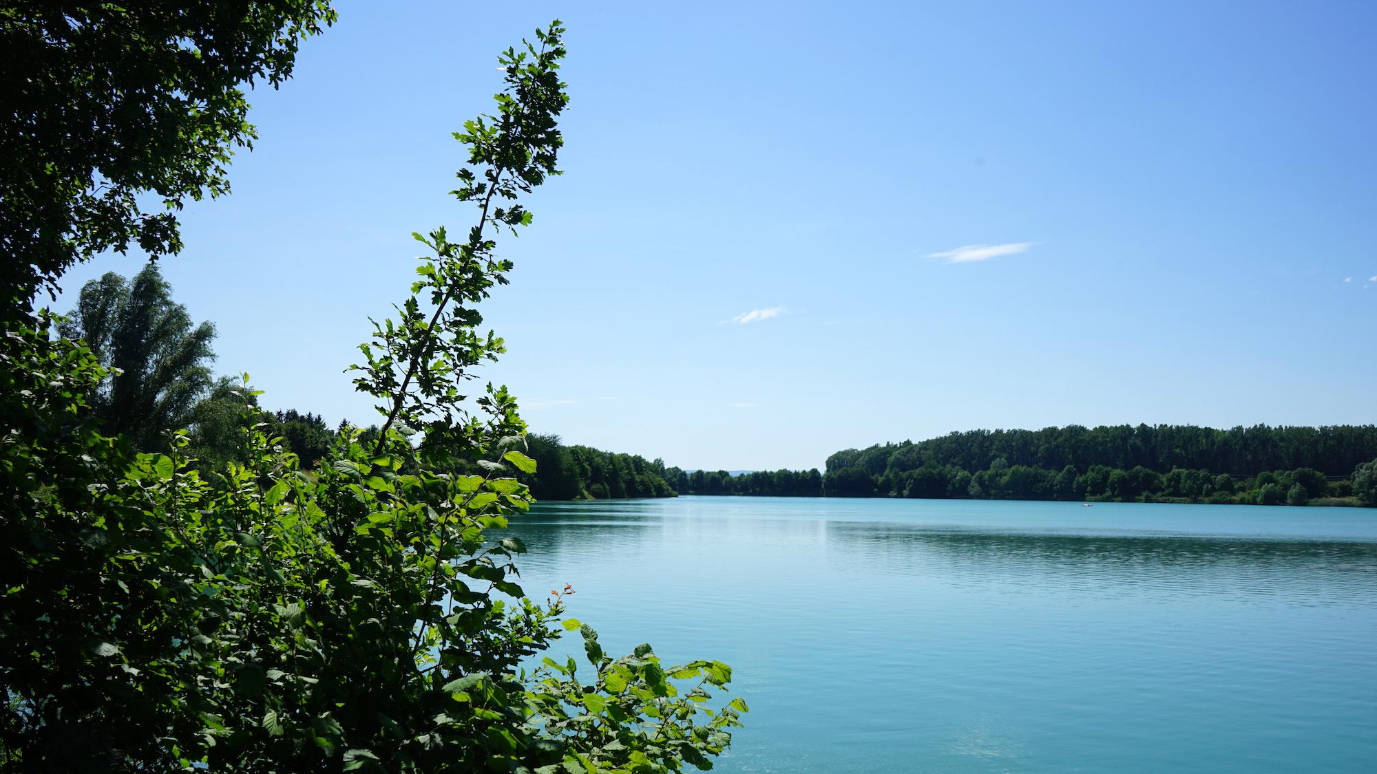 Nördliches Harzvorland: See zwischen Heiningen und Börßum / Beate Ziehres