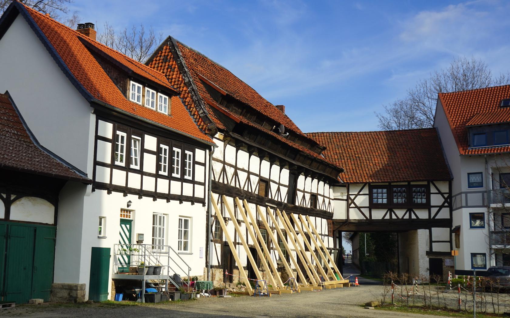 Nördliches Harzvorland, Burg Vienenburg, ehemaliges Brauhaus. Foto: Beate Ziehres